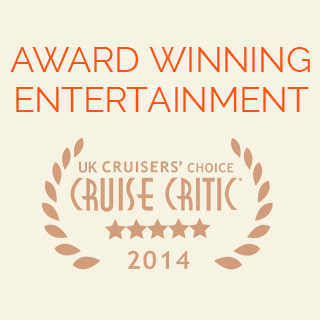 Peel Entertainment Cruise Critic award 2014